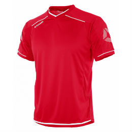 Futura Short Sleeve Jersey Red/White
